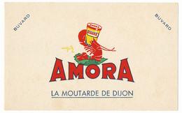 Buvard  AMORA 19.9 X 12.4 La Moutarde De Dijon - Mostard