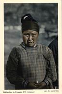 Grönland, Eskimofrau In Umanak, NW Grönland, Phot. Dr. Arnold Heim - Greenland