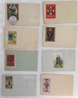 Lot De 8 Cartes - Timbre -militaire -746 - Otros