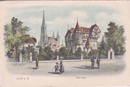 ALLEMAGNE - BADE-WURTEMBERG - UML A.D. - PROMENAGE - Ulm