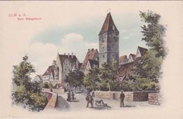 ALLEMAGNE - BADE-WURTEMBERG - UML A.D. - BEIM METZGERTURM - Ulm