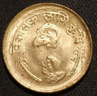 NEPAL - 10 PAISA 1976 - ( 2033 ) - Birendra Bir Bikram - Développement Agricole - KM 810 - Nepal