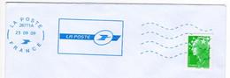 Flamme Test ROC 26771A Neopost Interne à La Poste Services Techniques Eure Et Loir Chartres CAMPUS DES METIERS 2009 - Annullamenti Meccanici (pubblicitari)