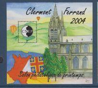 CNEP-2004-N°40**CLERMONT FERRAND 2004 .Salon Philathélique De CLERMONT FERRAND - CNEP