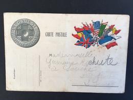 Carte En Franchise Militaire «Le Gaulois « - Lettere In Franchigia Militare