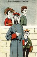 CPA - WW1 WWI Propaganda Propagande - Une Chouette Famille - Umoristica Satirica, Humour Satirique - NV - PV547 - Oorlog 1914-18