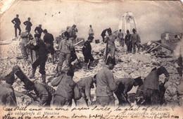 Catastrofe Di MESSINA - Al Salvataggio Dei Sepalti - Messina