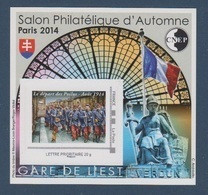 CNEP-2014-N°67** LE DEPART DES POILUS.Salon D'automne De 2014 - CNEP