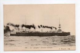 - CPA MARINE MILITAIRE - Croiseur Cuirassé LE QUEYDON - Edition Bougault 533 - - Warships