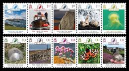 Isle Of Man 2021 Mih. 2677/86 The Calf Of Man (incl. Europa. Fauna. National Endangered Wildlife) MNH ** - Isle Of Man