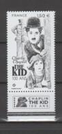 FRANCE / 2021 / Y&T N° 5473 ** : Charlie Chaplin - The Kid 100 Ans X 1 BdF Bas (The Kid - Chaplin - 100 Ans) - Neufs