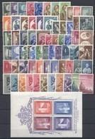 Vaticano 1955/1958 -Annate Complete +PA + BF - **MNH /VF - Volledige Jaargang