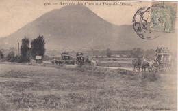 Arrivée Des Cars Au Puy De Dome - Sin Clasificación