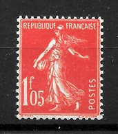 """France : """"Semeuse""""  N° 195 ** Très Frais (cote 21,50 €) Bon Centrage - 1906-38 Semeuse Camée"""