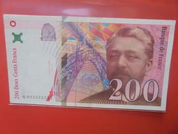 FRANCE 200 Francs 1999 Circuler (B.22) - 200 F 1995-1999 ''Eiffel''