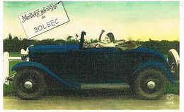 76 MEILLEUR  SOUVENIR  DE   BOLBEC   CPM  TBE  VR 924 - Bolbec