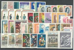 Italia Repubblica 1974 Annata Completa/Complete Year MNH/** - Años Completos