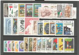 Italia Repubblica 1976 Annata Completa/Complete Year MNH/** - Años Completos
