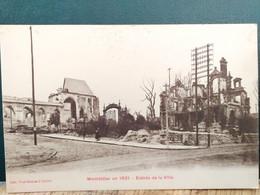 80 , Montdidier , L'entrée De La Ville En 1921 - Montdidier