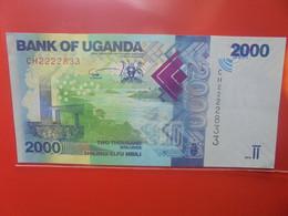 OUGANDA 2000 SHILLINGS 2019 Peu Circuler/Neuf (B.22) - Uganda