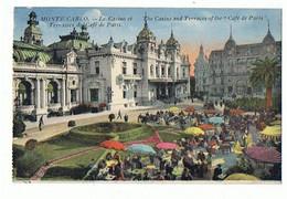 MONACO - Monte Carlo, Terrasse Du Café De Paris - 641 - Bars & Restaurants