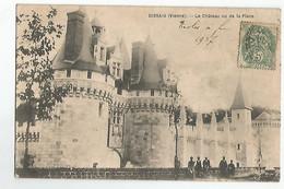86 Dissais Le Chateau Vu De La Place Animée - Sin Clasificación