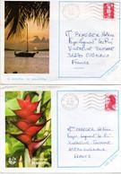 2 Enveloppes De St  Martin   1989 Et 91 - Other