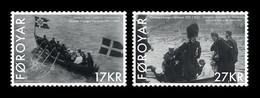 Faroe Islands 2021 Mih. 1011/12 Visit Of King Christian X In 1921 MNH ** - Faeroër