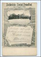 S2656/ Zeitung AK Fredericia Social-Demokrat Arbeiterpartei Dänemark 1904 - Denmark