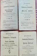 Souvenirs De Communion Flobecq 1938/1940 - Santini