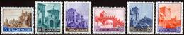 Saint-Marin 1966 Yvert 666 / 671 ** TB - Unused Stamps