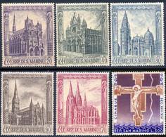 Saint-Marin 1967 Yvert 704 / 709 ** TB - Unused Stamps