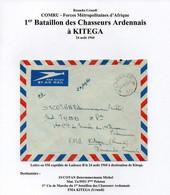CONGO RUANDA-URUNDI COMRU - LADEUZE Vers KITEGA - 1960 - FORCE METROPOLITAINE  - ALBB - Katanga