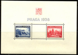 Tchecoslovaquie BF 1938 Yvert 6 ** TB - Blocks & Sheetlets