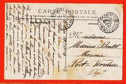 Vad110 ♥️ TOULON Après Passage TORPILLEUR Des Rues 1907 à BOUTET Mercerie Port-Vendres BRUNEL Cerbère BILADE VILLAROGE - Toulon