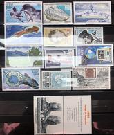 TAAF 2001, Poste N° 287/321 ; Timbres Et Blocs Magnifiques, Luxe, 3 Vues - Komplette Jahrgänge