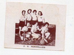(sport Basket) Image Biscottes LESPEAU :   F.S. MONTPELLIER (34 Hérault) (PPP28547) - Altri