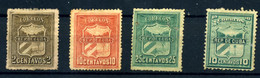 Cuba Nº 1, 2, 4/5. Año 1874/96 - Autres