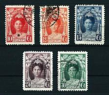 Surinam (Holandés) Nº 114/16-118A/30 Usado - Surinam ... - 1975