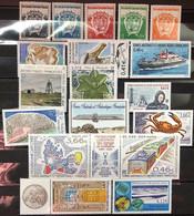 TAAF 2002, Poste N° 322/348 ; Timbres Et Blocs Magnifiques, 3 Vues, Prix Très Intéressant - Komplette Jahrgänge