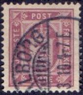 DENEMARKEN Dienstzegel 1875-23 3öre Perf 12½ GB-USED - Dienstzegels