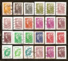 Lot Marianne De Beaujard - Bonnes Valeurs / Tous Différents (x24) Sur Fragments - 2008-13 Marianne (Beaujard)