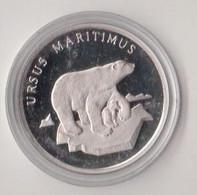 WWF 30 Years 20g Silver Coin, Ursus Maritimus (Ice Bear) - Non Classés