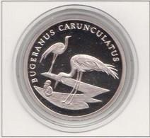 WWF 30 Years 20g Silver Coin, Bugeranus Carunculatus ( Crane) - Non Classés