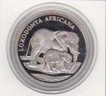 WWF 30 Years 20g Silver Coin, Loxodonta Africana ( Elephant) - Non Classés