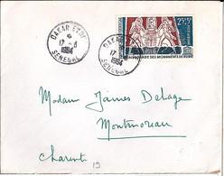 SENEGAL / LETTRE DE DAKAR POUR LA FRANCE   ...   1964 - Senegal (1960-...)