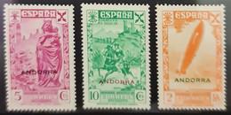 Andorra. - Unused Stamps