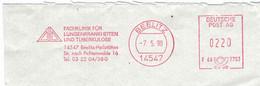 Fachklinik Für Lungenkrankheiten Und TBC Beelitz Heilstätten 14547 1998 - Farmacia