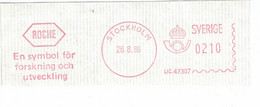 Roche - Symbol Forschung & Entwicklung Stockholm 1986 - Geneeskunde
