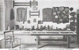 Cpa 63 Folklore Auvergnat , Ustensiles D'un Usage Courant En Auvergne Collection Désaymards , Vierge - Altri Comuni